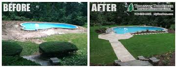 in ground pools cool. Cool Pool Patio Installation In Lancaster, PA | Tomlinson Bomberger Ground Pools C