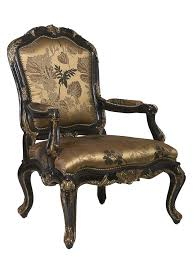 claudette arm chair nbsp shown with tight seat and backexposed carved hardwood frame in selection
