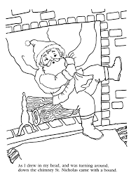 39 Night Before Christmas Coloring Pages Coloring Book Publishers