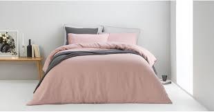 brisa 100 linen bed set super king dusky pink uk bedding sets linen bed bath made com
