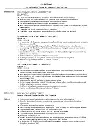 Resume For Architecture Job Solutions Architecture Resume Samples Velvet Jobs 26