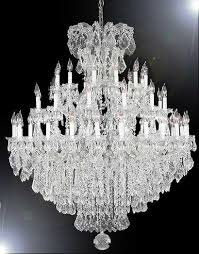 swarovski crystal lighting. A83-SILVER/21502/36+1SW Swarovski Crystal Trimmed CHANDELIER Chandeliers, Lighting K
