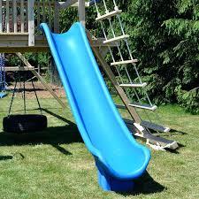 swing set slides foot long scoop slide for wooden swing sets or