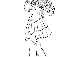 Disney Descendants Coloring Pages Lovely Fresh Coloring Pages For