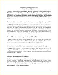 Criminal Justice Resume Resume Example Regarding Criminal