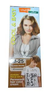Permanent Hair M 25 Blonde Brown