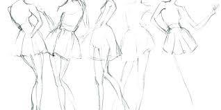 Illustrator Fashion Template Ellerynewtonco