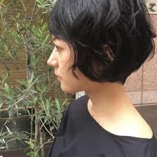 くせ毛ショートボブpowder Tera所属槇あかねのヘアカタログミニモ