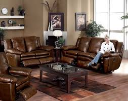 how to decorate furniture. Brown Leather Sofa And Rectangular Dark Wooden Table With Within How To Decor Furniture Decorate L
