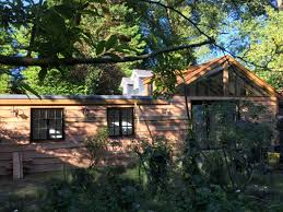 home office in the garden. Shepperton - Home Office/Guest Room Custom Built Garden Rooms, Cabins And Timber Buildings Office In The