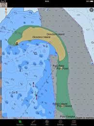 Yacht Zen Again Cm93 Charts And Googleearth Imagery On Ipad