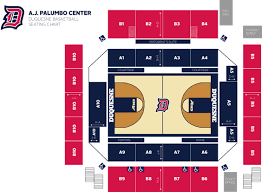 Basketball Seating Chart Duquesne University