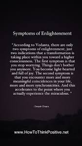 Enlightenment Quotes Simple Symptoms Of Enlightenment I AM Pinterest Knowledge And Motivation