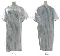 Hospital Gown Pattern Enchanting Amazon Snowflake Print Hospital Medical Gowns Pack Of 48