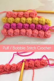 Popcorn Stitch Crochet Patterns