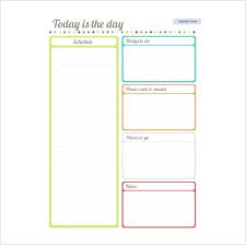 Class Schedule Excel Template Download Daily Class Schedule Template Stingerworld Co