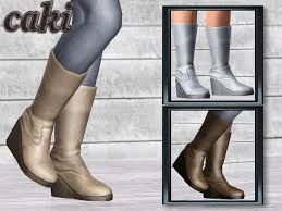 Juliana Sims: Caki Boots
