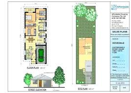 narrow lot house plans with courtyard plan amazing home design single story garage small full size