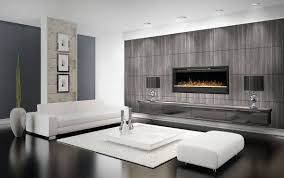 Electric Fireplace Modern Design Electric Fireplaces Organized Interiors