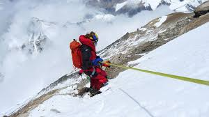 Andy Holzer climber everest descent everest
