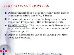 pulsed wave pw doppler ultrasound physics