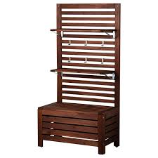 terrace furniture ideas ikea office furniture. pplar bench wpanel and shelves outdoor brown stained storage benchesikea outdooroutdoor furnituremodern terrace furniture ideas ikea office o