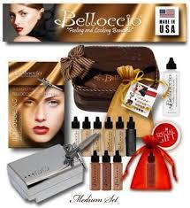 belloccio um plexion airbrush makeup review plete kit