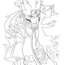 Naruto Coloring Page Coloring Sheets Best Coloring Pages Images On