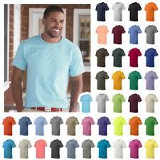 Details About Hanes Mens Comfortsoft 100 Cotton Tagless T Shirt S 3xl 5250