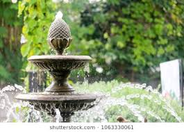 garden fountain. Simple Garden Fountain In Garden With Garden A