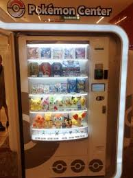 Pokemon Vending Machine