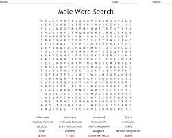 Mole Word Search Wordmint