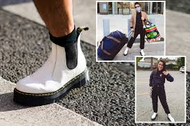 Get the best deals on doc marten chelsea boots and save up to 70% off at poshmark now! How To Wear Dr Martens 2976 White Platform Chelsea Boots Instyle