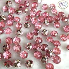 <b>HL</b> 40pcs <b>Pink Color</b> Round Acrylic Buttons Apparel Sewing ...