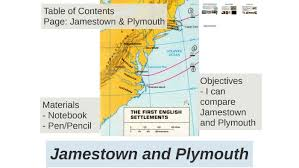 Jamestown And Plymouth Comparison Chart Jamestown And Plymouth By Matt Baker On Prezi