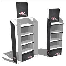 Free Standing Retail Display Units POP Direct Select Brand Deliver Deluxe Product Display 56