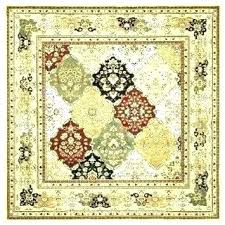 square area rugs amazing yellow rug ikea
