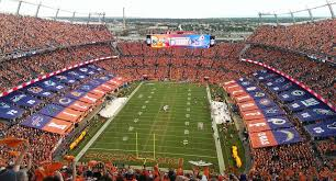 Denver Invesco Field Seating Chart Sports Authority Field At Mile High Football Stadium