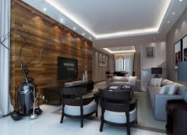 ... Wood Wall Living Room Contemporary Wood TV Wall And Wood Table For  Interior Design | 3D