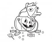 This disney coloring page is sure to get you in the spooky spirit! Disney Halloween Coloring Pages To Print Disney Halloween Printable