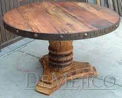 reclaimed wood round dining table amusing lovely reclaimed wood round dining table rustic wood dining table