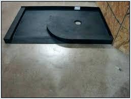 tile ready shower pan sizes base with seat ti