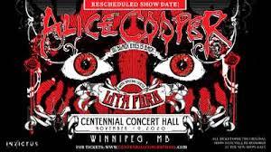 <b>Alice Cooper</b> | Winnipeg | Centennial Concert Hall