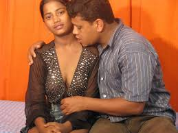 Indian Sex Lounge Indian Girl Muffdived And Anal Fucked On Bed.