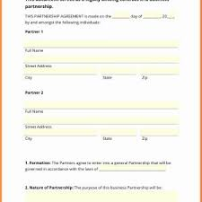Business Partnership Agreement Sample Pdf Archives - Elplural.co ...