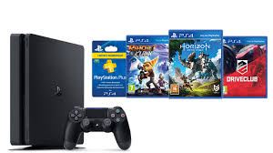 sony ps4 games. sony ps4 slim 500gb + 3 games \u0026 month card ps4 v