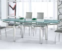 glass dining room table base. glass dining table set white clear windows modern brown fur rug natural stone carving base peach cotton room .