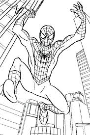 Free Printable Spiderman Coloring Sheets Free Printable Coloring