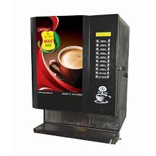 Hot Coffee Vending Machine