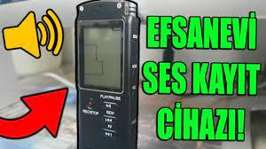 EFSANEVİ SES KAYIT CİHAZI! (Banggood) - YouTube